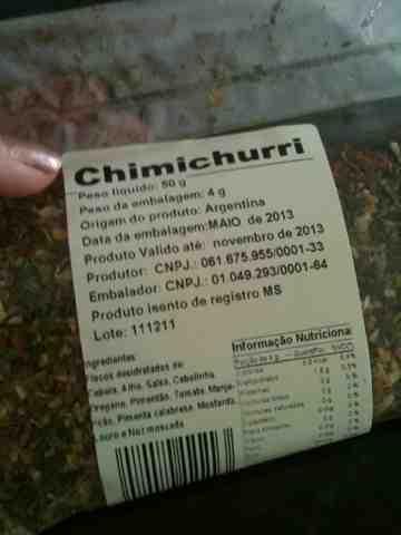 Bife ao Molho Chimichurri