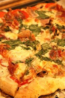 Maries Creme fraich pizza...