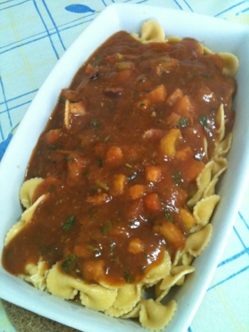 Macarrão ao Sugo All'Amatriciana