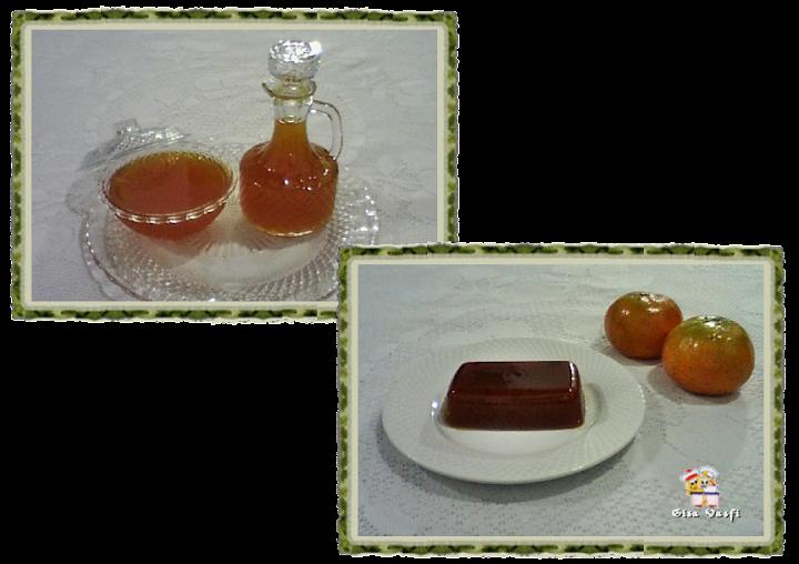 Geleia, calda e doce de mexerica carioquinha