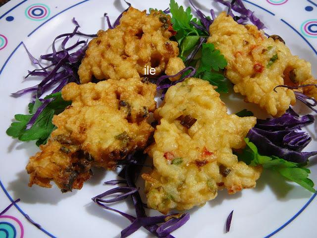 Buñuelos o croquetas de arroz