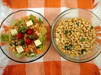 Salada: mantenha o equilíbrio de seu corpo com SALADA à base de SOJA!