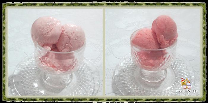 de sorvete caseiro de acerola no liquidificador