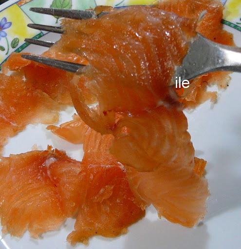 Gravlax de salmon diferente