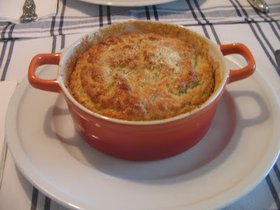 Suflé de bacalhau para a Quarta-feira de cinzas