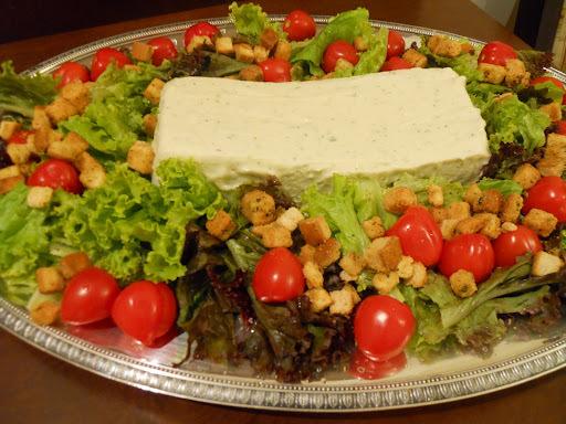 Mousse de Palmito....um bom e gostoso curinga para saladas!