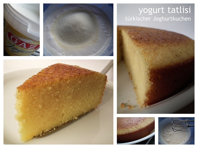 yogurt tatlisi