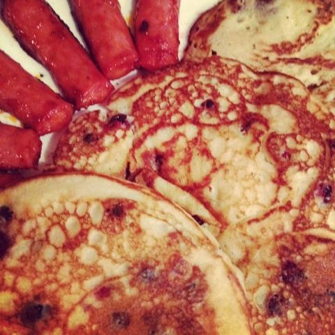 Gastro-receta: Pancakes con agraz