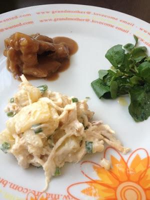 Salada de Frango com Batatas