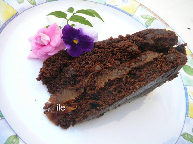 Torta de chocolate y cerveza negra