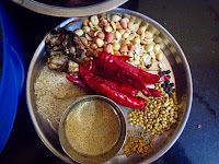 Ennai Kathrikai Khuzhambu (Andhra style)-Stuffed Eggplants in a spicy gravy