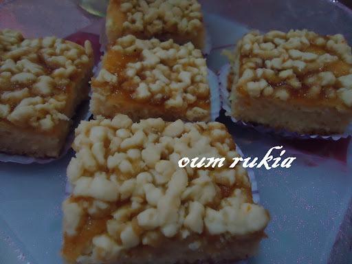 Gâteaux secs très fondants à la confiture