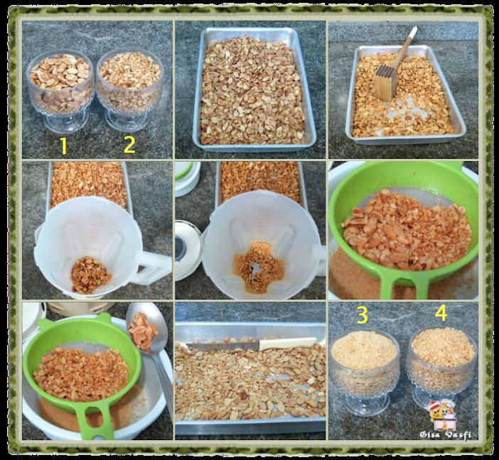 3 variantes do bolo de amendoim com ganache
