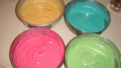 Οδηγός χρωμάτων για γλύκα!