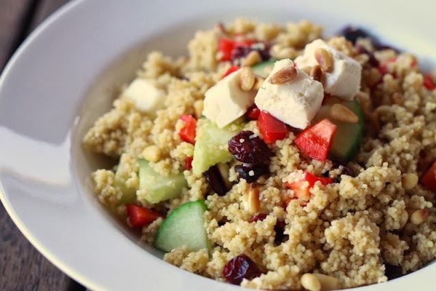 Super-Quick Couscous Salad Recipe