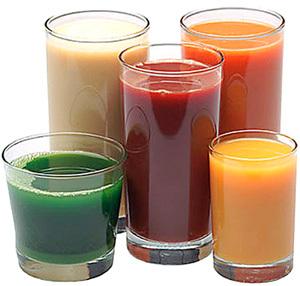 Sucos benéficos para o organismo