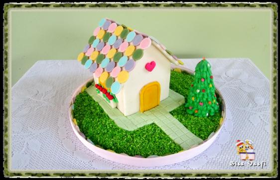 Lar, doce lar - casinha de açúcar