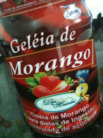 Mini Crepes de Polvilho com Geléia de Morango Diet