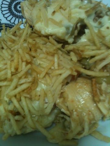 fricasse de frango com presunto e queijo