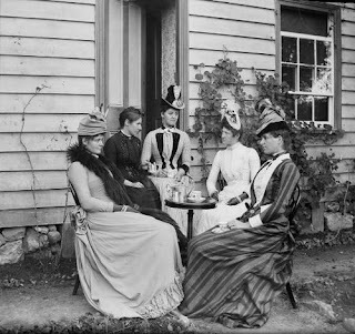 Chá das 5 na Era Vitoriana