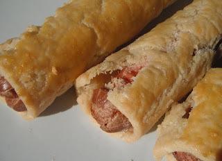 Almost instant sausage rolls - dairy-free, gluten-free