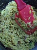 bolinho de arroz com farinha de aveia