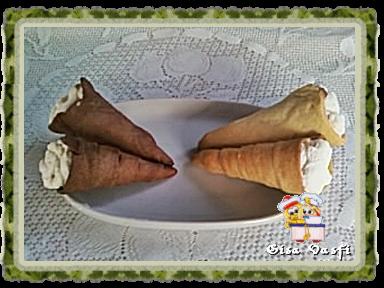 de canudo frito de doce de leite com massa de pastel