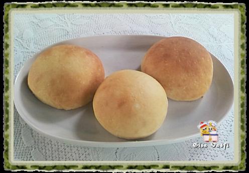 Pão para hamburguer com fermento natural