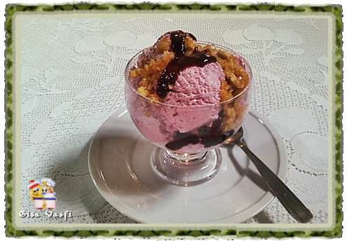 como fazer sorvete caseiro com pedaços de frutas