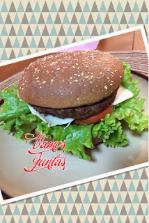 Hamburger Caseiro Assado Light