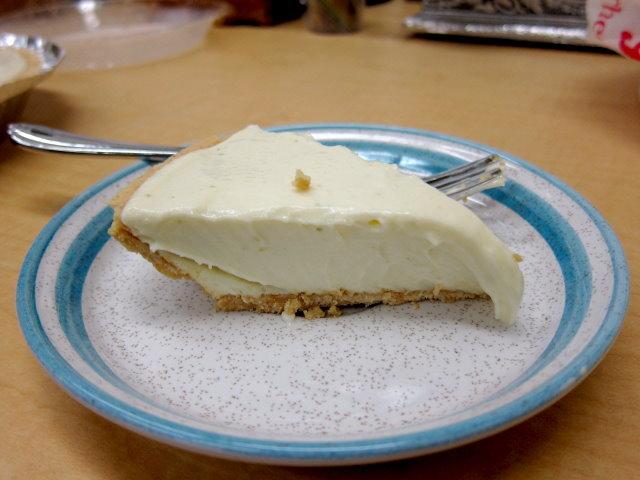[食譜] 免用烤箱的 偽 key lime pie