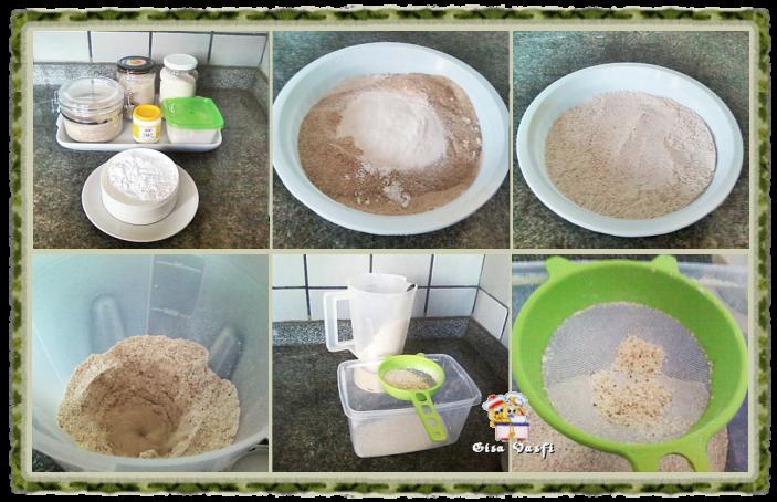 Mix de farinhas sem glúten