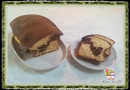 Pão Recife, de chocolate, com fermento natural