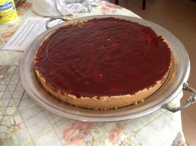 de torta de biscoito maizena e goiabada e limao