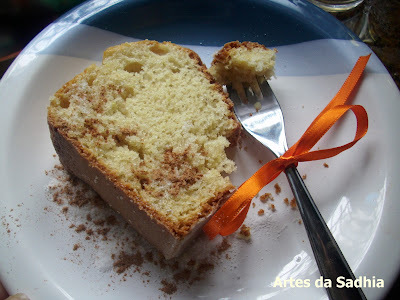 bolo de maçâ Gala