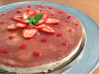 Cheesecake Gelado
