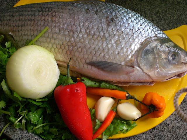recheio para peixe tambaqui assado na brasa