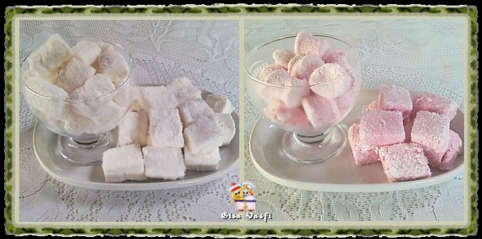marshmallow feito com karo