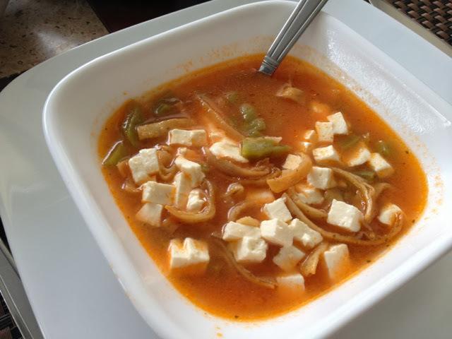 Sopa de nopal