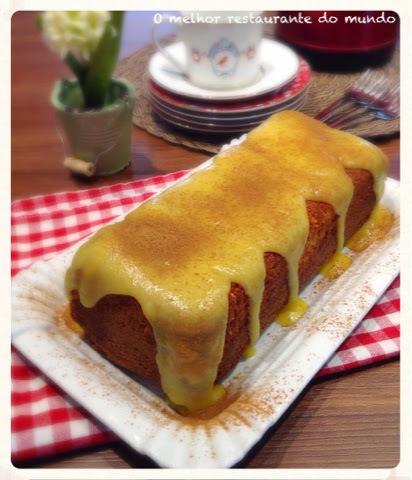 bolo de milho culinária sabor de vida