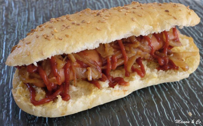 Hot dog maison