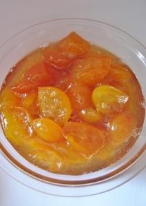 Compota de laranjas kinkan