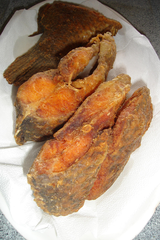 Peixe fidalgo frito