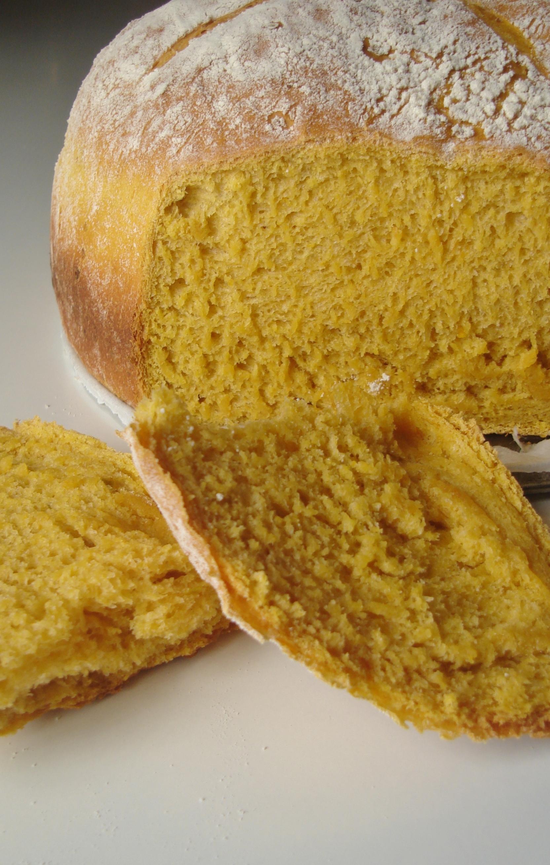 Pão de abóbora paulistinha