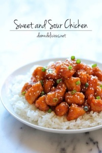 Recipe: Baked Sweet and Sour Chicken