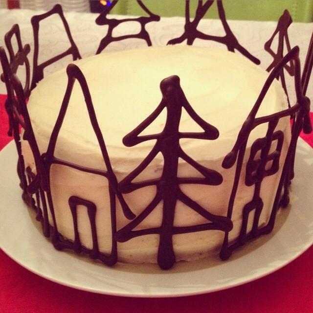 Impressionnez vos invités : gâteau aux épices et au chocolat