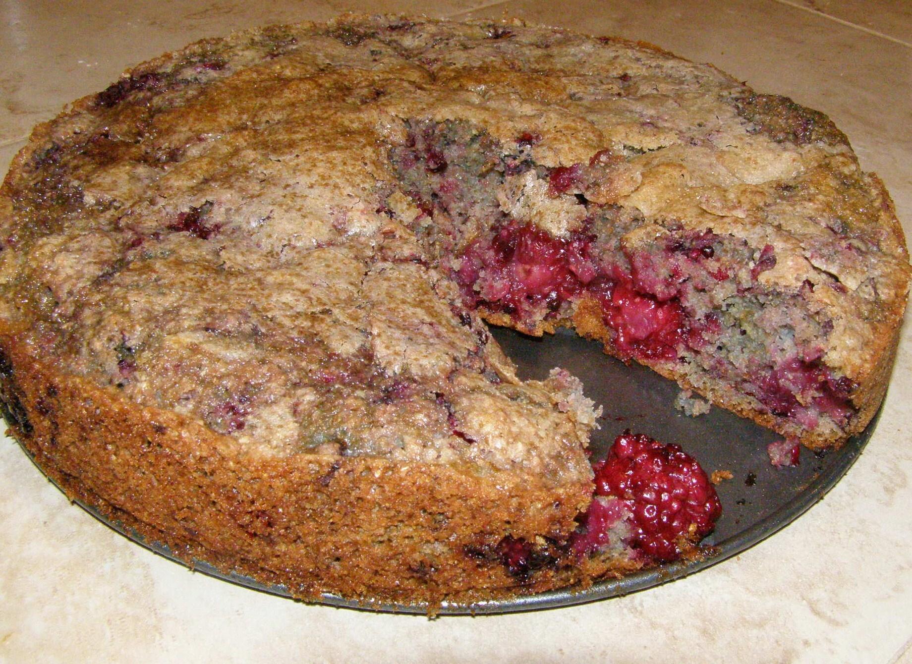 pastel de vainilla con harina preparada