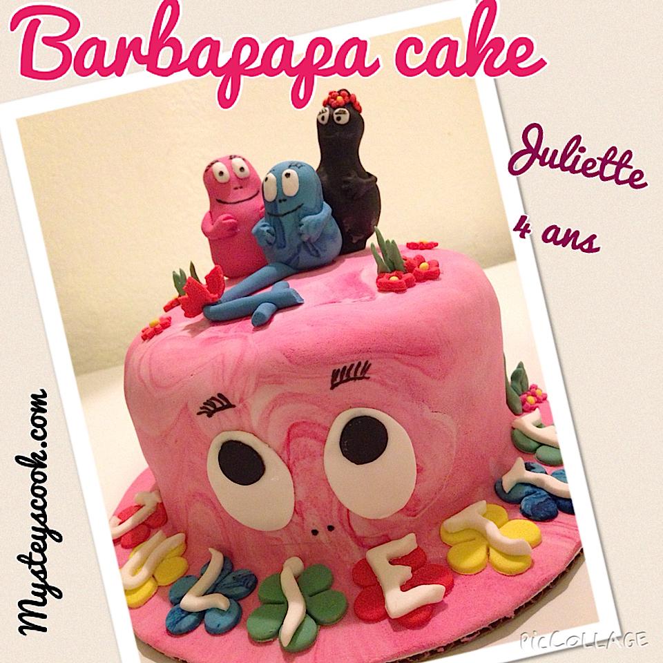 Barbapapa Cake – Juliette 4 ans