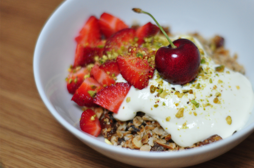 Comment on Toasted muesli with fresh fruit and pistachio dust by itsavegworldafterall
