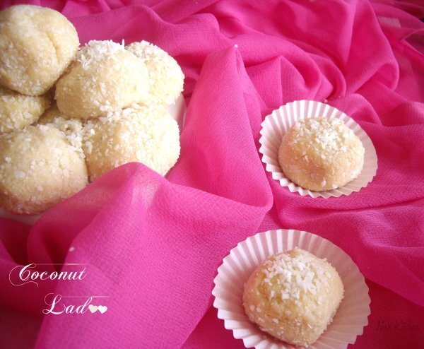 Coconut Ladoo – with Condensed Milk